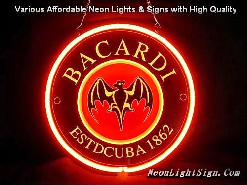 Bacardi BSTDCUBA 1862 Logo 3D Beer Bar Neon Light - Beer
