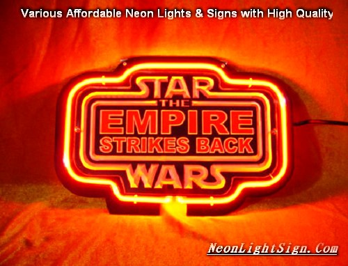 STAR WARS The Empire Strikes Back 3D Beer Bar Neon Light Sign