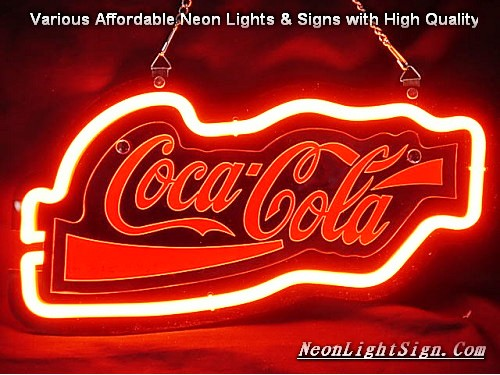 Coca Cola Coke Soda 3D Beer Bar Neon Light Sign