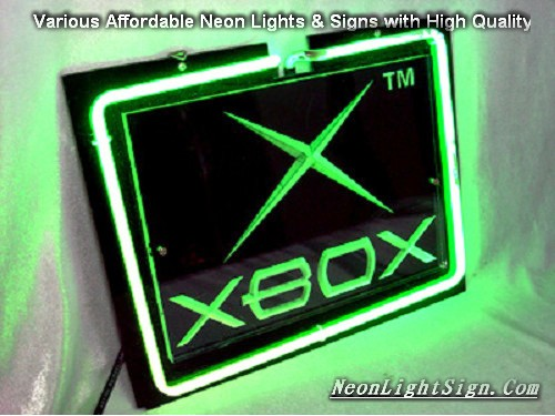 XBOX Display 3D Beer Bar Neon Light Sign