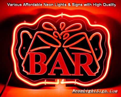 BAR 3D Beer Bar Neon Light Sign