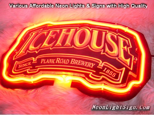 NEW ICEHOUSE 3D Beer Bar Neon Light Sign