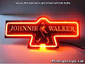 Johnnie Walker 3D Beer Bar Neon Light Sign