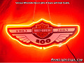 Harley Davidson Motor Cycle 100 Years Anniversary 1903-2003 Neon Light Sign