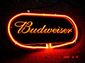 Budweiser Glass 3D Beer Bar Neon Light Sign