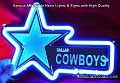 NFL Dallas Cowboys 3D Neon Sign Beer Bar Light
