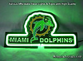 NFL Miami Dolphins 3D Neon Sign Beer Bar Light