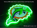 NFL Miami Dolphins M 3D Neon Sign Beer Bar Light