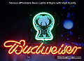 NBA EW Milwaukee Bucks Budweiser Beer Bar Neon Light Sign
