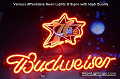 NBA Philadelphia 76 ers Budweiser Beer Bar Neon Light Sign