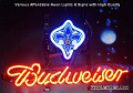NBA Orleans Hornets Budweiser Beer Bar Neon Light Sign