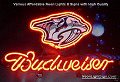 NHL Nashville Predators Budweiser Beer Bar Neon Light Sign