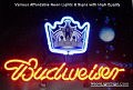 NHL Los Angeles Kings Budweiser Beer Bar Neon Light Sign