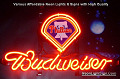 MLB Philadelphia Phillies Budweiser Beer Bar Neon Light Sign