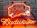 NFL Cincinnati Bengals Budweiser Beer Bar Neon Light Sign