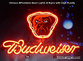 NFL Cleveland Browns Budweiser Beer Bar Neon Light Sign