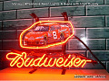 NASCAR #8 DALE EARNHARDT Budweiser Beer Bar Neon Light Sign