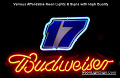 NASCAR #17 MATT KENSETH Budweiser Beer Bar Neon Light Sign