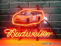 NASCAR #20 TONY STEWART Budweiser Beer Bar Neon Light Sign