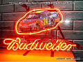 NASCAR #24 JEFF GORDON Budweiser Beer Bar Neon Light Sign