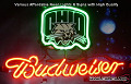 NCAA OHIO STATE UNIVERSITY BUCKEYES Budweiser Beer Bar Neon Light Sign