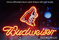 NHL Phoenix Coyotes Hockey Budweiser Beer Bar Neon Light Sign