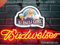 ST. Pauli Girl Budweiser Beer Bar Neon Light Sign