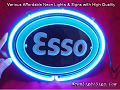 ESSO GAS OIL 3D Neon Light Sign
