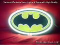 BATMAN COMIC ACTION HERO 3D Beer Bar Neon Light Sign