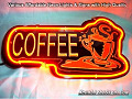 COFFEE STORE Road 3D Beer Bar Neon Light Sign