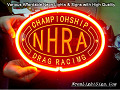 NHRA Championship Dragracing BIKINI 3D Beer Bar Neon Light Sign