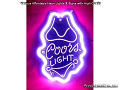 COORS LIGHT BIKINI 3D Beer Bar Neon Light Sign