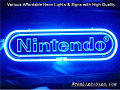 Nintendo Game Logo Gift 3D Beer Bar Neon Light Sign