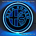Alfa Romeo LOGO Autos Car 3D Beer Bar Neon Light Sign
