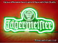 Jagermeister Jagermeifter Jägermeister 3D Beer Bar Neon Light Sign