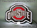 NCAA Ohio State 3D Beer Bar Neon Light Sign
