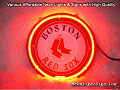 MLB Boston Red Sox 3D Beer Bar Neon Light Sign