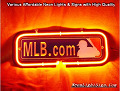 MLB.COM 3D Beer Bar Neon Light Sign
