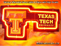 NCAA TEXAS TECH RED RAIDERS 3D Beer Bar Neon Light Sign