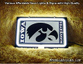 NCAA University of Iowa Hawkeyes 3D Beer Bar Neon Light Sign