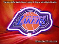 NBA Los Angeles Lakers 3D Beer Bar Neon Light Sign