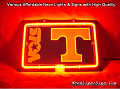 NCAA TENNESSEE VOLS 3D Beer Bar Neon Light Sign